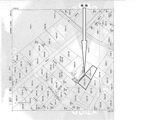 1坪あたり18,58万円・鶴ヶ島市脚折 建築条件なし 299㎡(約90坪)土地